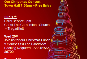 Launceston Town Band Annual Christmas Carol Concert