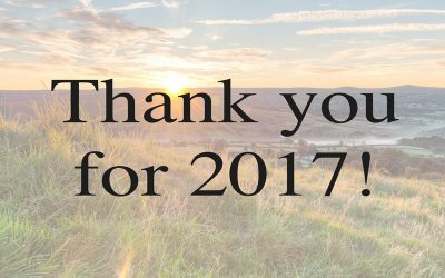 Thank you for 2017!