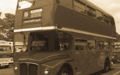 Free Vintage Bus Rides in Tavistock