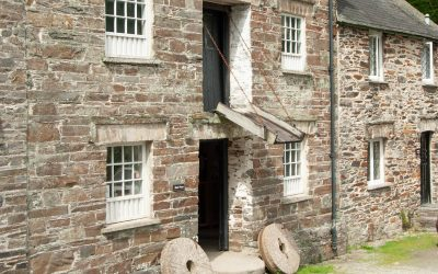 Milling day at National Trust Cotehele Mill