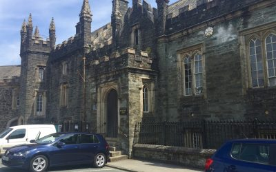 Tavistock's historic Magistrate's Court